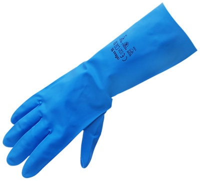 Bayeco Guante de Nitrilo Azul PACK 30 unidades