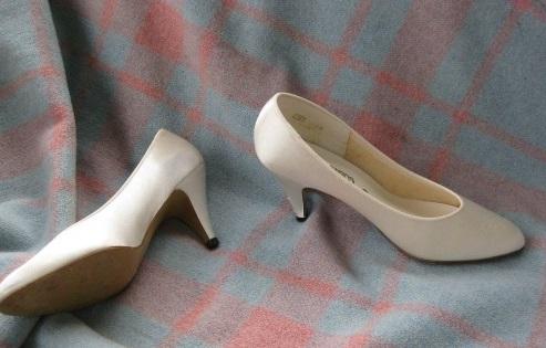 como tintar zapatos tela