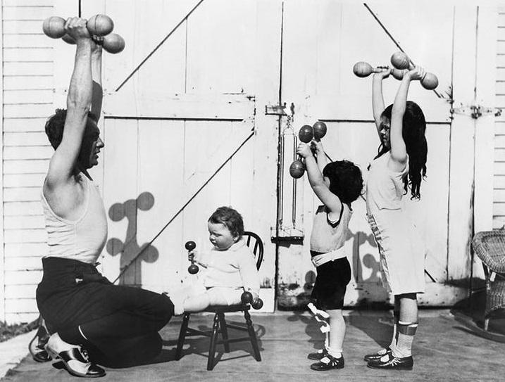 historia de las pesas